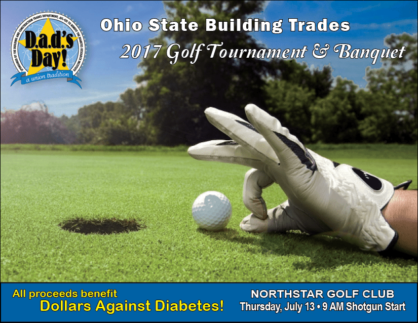 2017 D.A.D.'s Day Golf Tournament & Banquet @ Northstar Golf Club